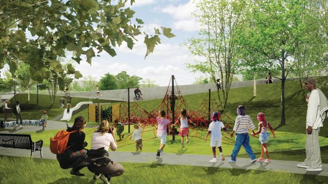 2015 National Discoverdesign Competition Pocket Park