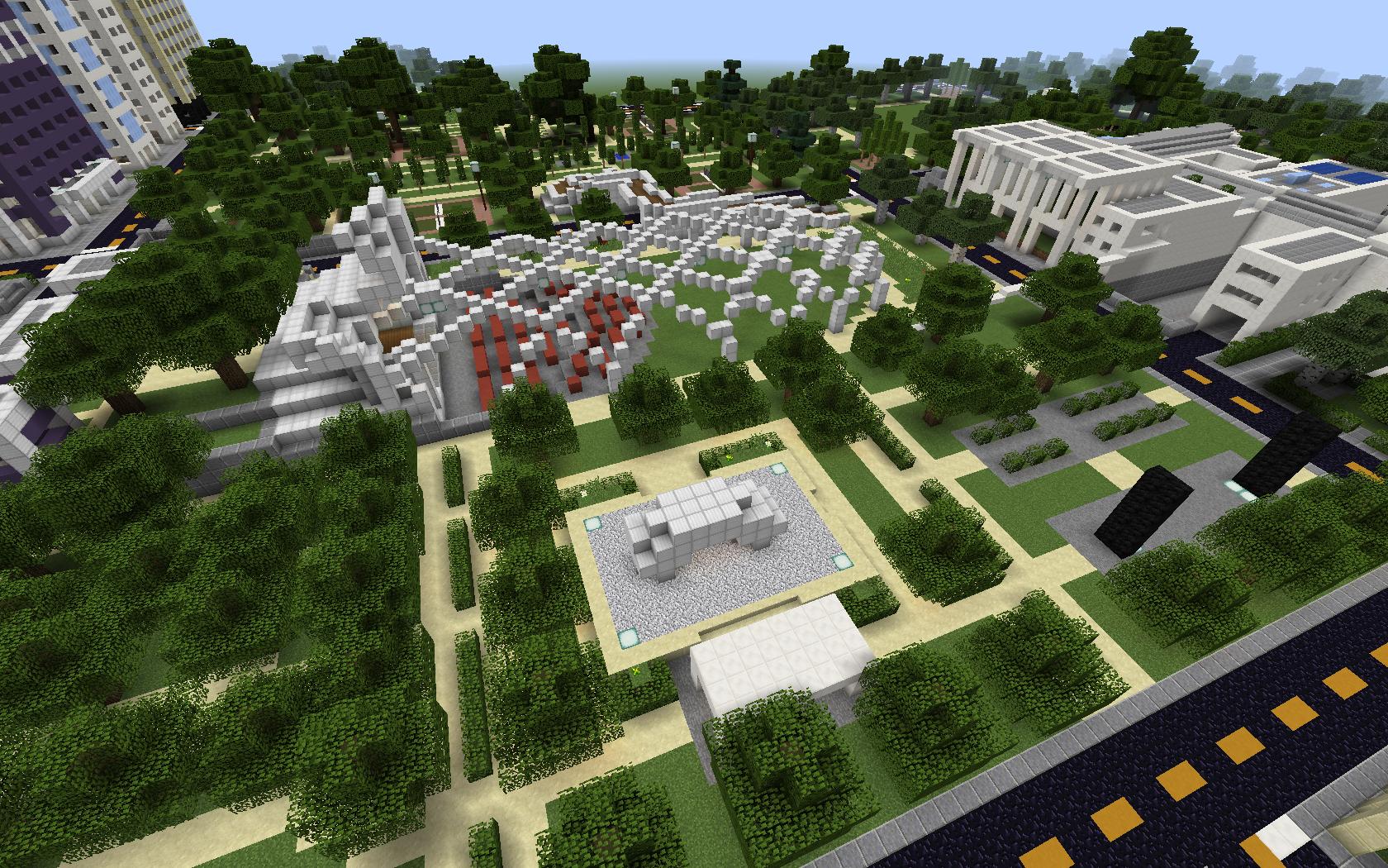 minecraft challenge redesign a public space discoverdesign