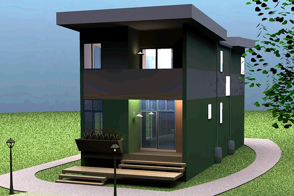 Affordable Green Home