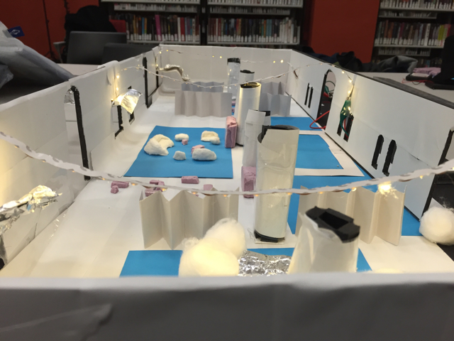 Physical Model of YouMedia at Chicago Public Library