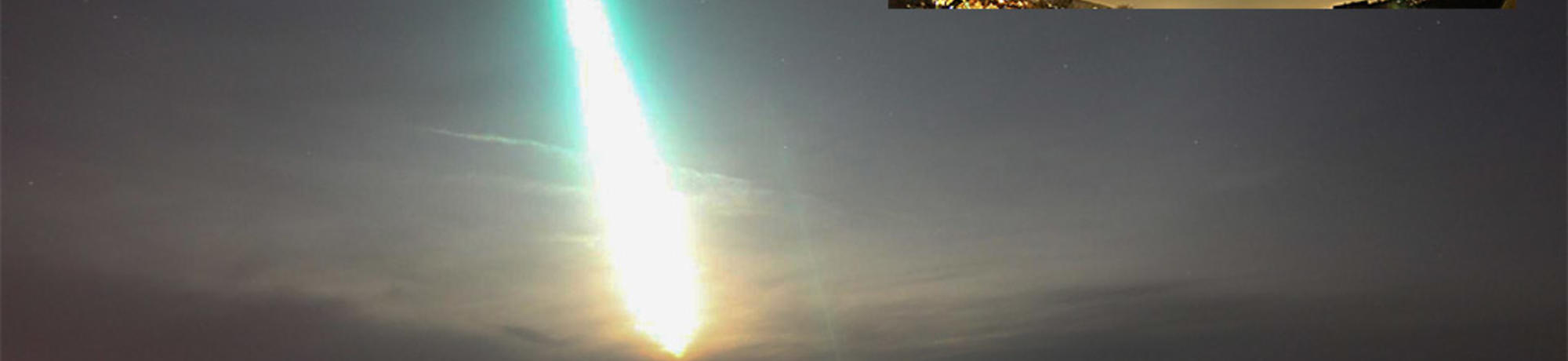 Wisconsin Fireball on Feb. 6th, 2017