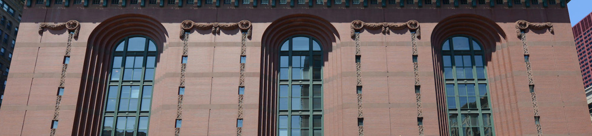 Harold Washington Library Front Elevation