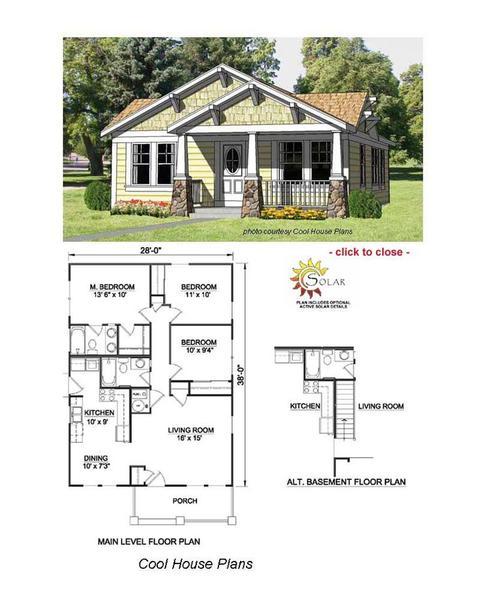 Bungalow Floor Plan Example Discoverdesign